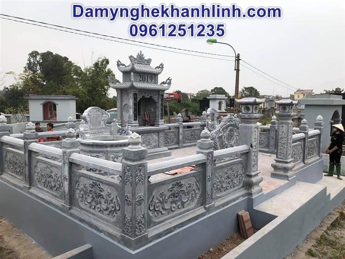 Cơ sở bán lăng mộ đá mẫu đẹp giá tốt uy tín tại Ninh Bình