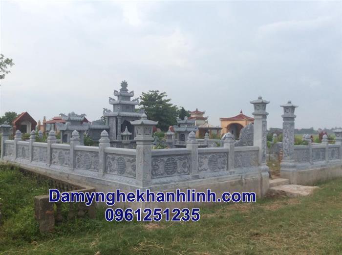 Cơ sở bán khu lăng mộ đá gia đình giá tốt nhất tại Ninh Bình