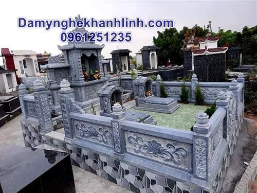 Khu lăng mộ đá gia đình - Mẫu lăng mộ đẹp nhất năm Canh Tý