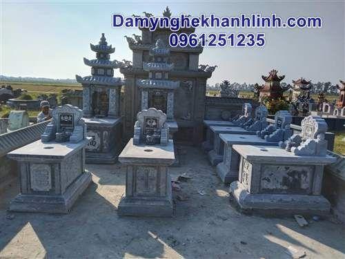 Hình ảnh lắp ghép khu lăng mộ đá đẹp ở Lý Nhân - Hà Nam