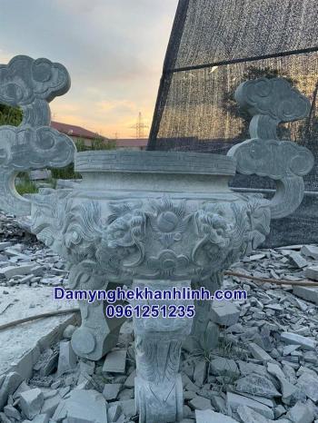 Lư hương đá-các mẫu lư hương đá đẹp bán tại ninh bình