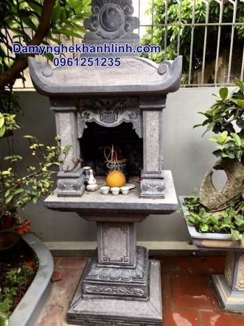 Mẫu bàn thờ thiên bằng đá xanh đẹp bán tại Hà Nội
