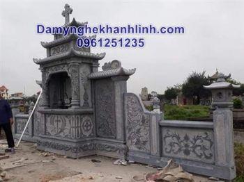 Lăng thờ đá công giáo - mẫu lăng thờ của người theo đạo