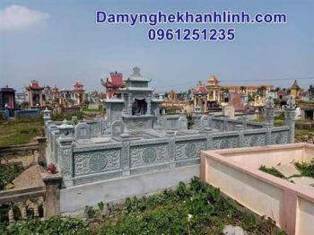 Top 10+ mẫu thiết kế khu lăng mộ đá gia đình đẹp - Đá mỹ nghệ Khánh Linh