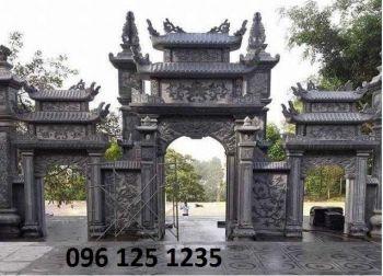 Cổng đá - cổng đá đình chùa đẹp 001