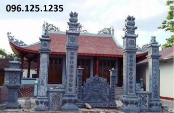 Cổng đá nhà thờ họ đẹp kl002