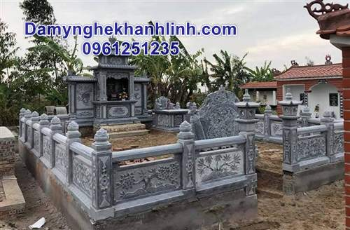 Lăng mộ đá - khu lăng mộ đá gia đình đẹp