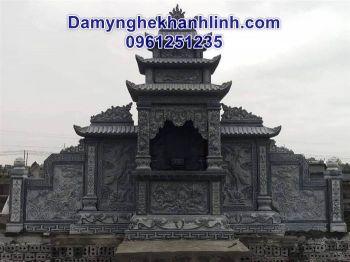 Lăng thờ đá - Mẫu lăng thờ bằng đá đẹp thiết kế tinh tế