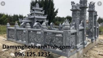 Khu lăng mộ đá xanh đẹp - Đá Mỹ Nghệ Khánh Linh
