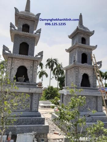 Mộ tháp đá -mẫu mộ tháp đá phật giáo đẹp năm 2020